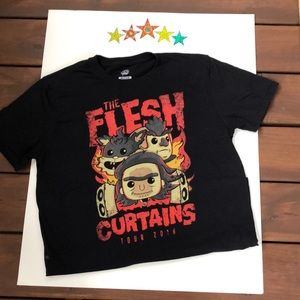 Other - Funko Pop Tees Rick and Morty The Flesh Curtains M
